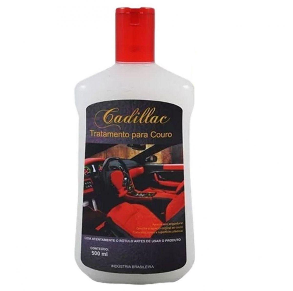 Hidratante e Condicionador Bancos em Couro Cadillac