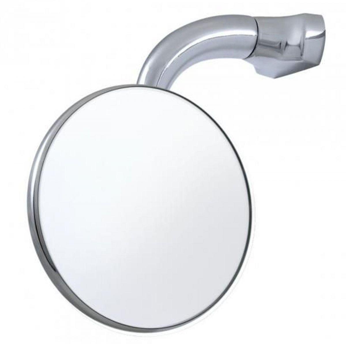Espelho Retrovisor Universal 4´ Haste Curta